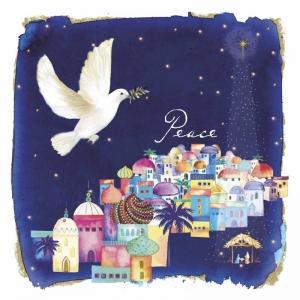 Dove Over Bethlehem Christmas Cards