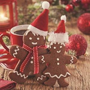 Christmas Gingerbread Christmas Cards